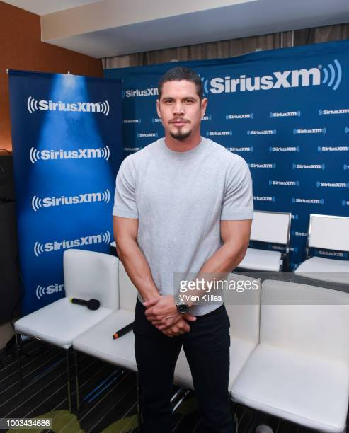J D Pardo attends SiriusXM's Entertainment Weekly Radio Broadcasts Live From Comic Con in San Diego at Hard Rock Hotel San Diego on July 20 2018 in...