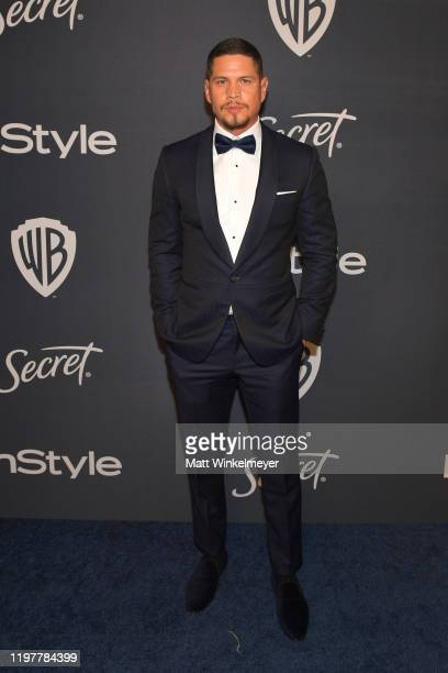 J D Pardo attends The 2020 InStyle And Warner Bros 77th Annual Golden Globe Awards PostParty at The Beverly Hilton Hotel on January 05 2020 in...