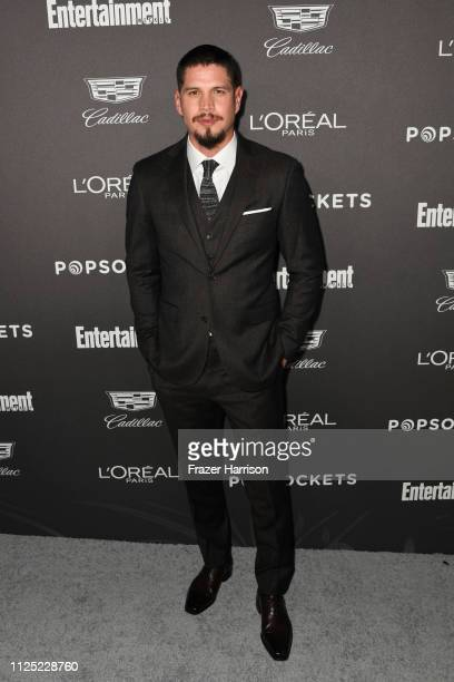 J D Pardo attends the Entertainment Weekly PreSAG Party at Chateau Marmont on January 26 2019 in Los Angeles California