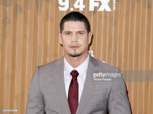 Pardo attends the premiere of FX's 'Mayans MC' at TCL Chinese Theatre on August 28 2018 in Hollywood California