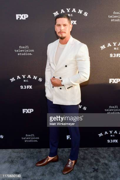 D Pardo attends the premiere of FX's Mayans MC Season 2 at ArcLight Cinerama Dome on August 27 2019 in Hollywood California