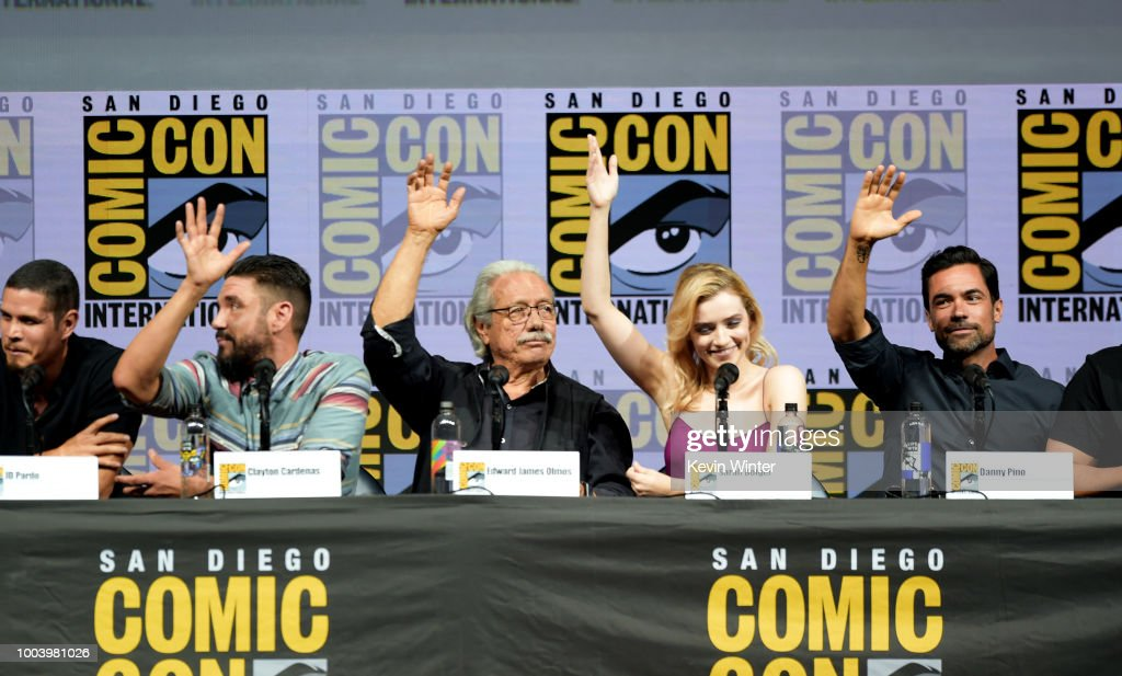 """Comic-Con International 2018 - """"Mayans M.C."""" Discussion And Q&A : News Photo"""