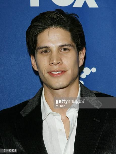 JD Pardo during Fox AllStar TCA Party at Villa Sorriso in Pasadena California United States