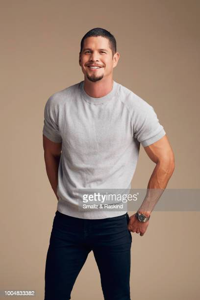 J D Pardo from FX'S 'Mayans MC' poses for a portrait at the Getty Images Portrait Studio powered by Pizza Hut at San Diego 2018 Comic Con at Andaz...