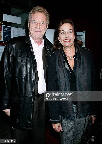 'PardonnezMoi' Premiere On November 13Th 2006 In Paris France Here Robert Namias And Anne Barrere