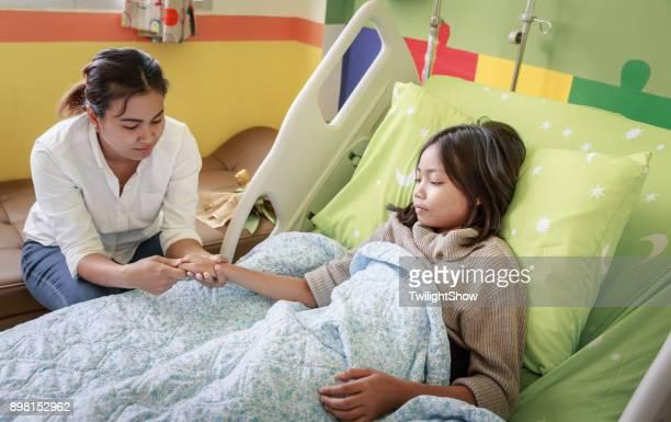 Eltern und Kind Patient