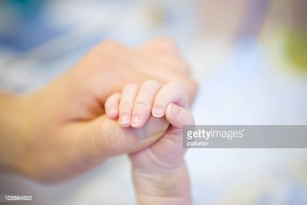 Parent hand