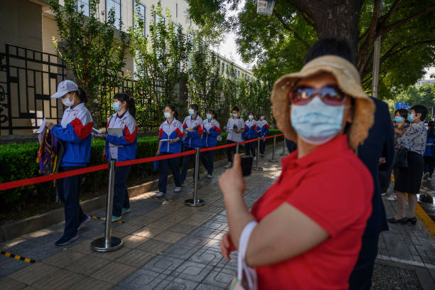CHN: China Students Take College Entrance Exams Amid COVID-19 Pandemic