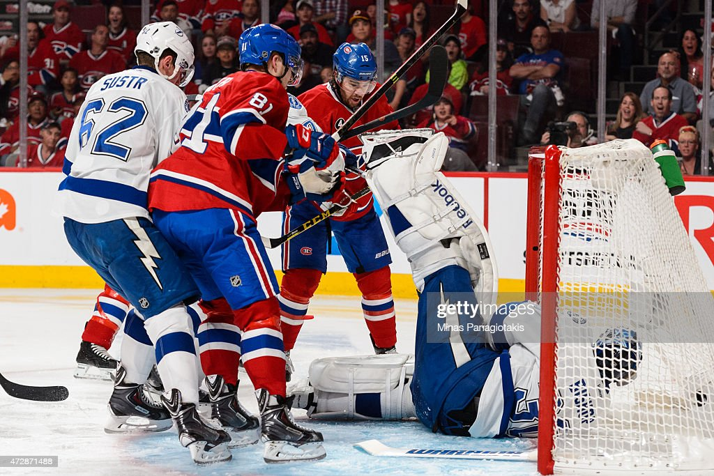 Tampa Bay Lightning v Montreal Canadiens - Game Five : News Photo