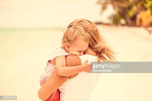 parenthood - mothers day beach stock pictures, royalty-free photos & images