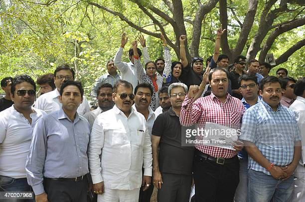 Parents association from Ghaziabad staged a massive protest at district headquarters on Saturday and raised the issue of ambiguous fee hike in some...