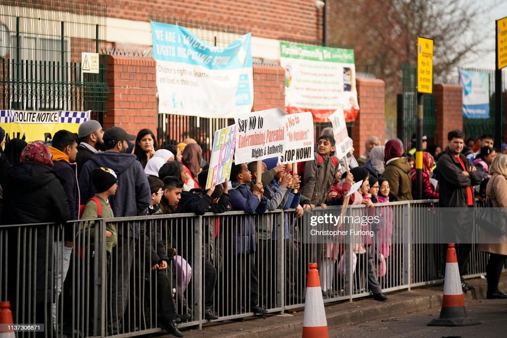 Parents Protest As School Fails To Scrap LGBT Rights Teachings : News Photo