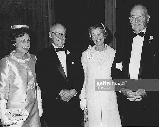 AUG 28 1967 SEP 1 1967 Parents of bride and bridegroom arrive for Nuptials Parents of the bride Mr and Mrs Otis Beverly Hocker left and parent of...