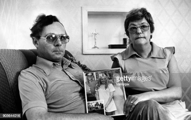Parents of murder victim Geraldine Hughes ahead of fifth anniversary of murders 12th September 1978 The Saturday Night Strangler Case September 1973...