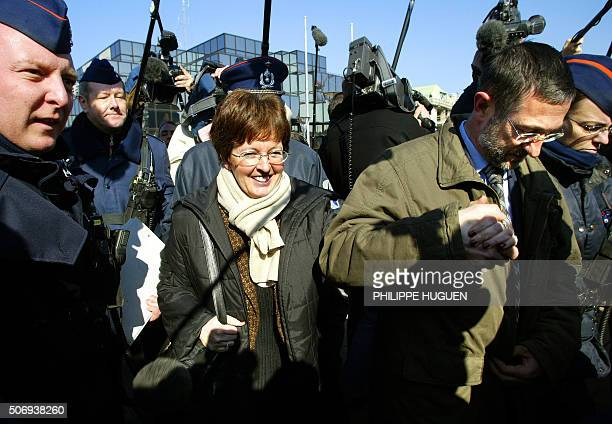 Parents of one of Marc Dutroux' victims An Marchal Pol and Betty leave Arlon court 03 March 2004 Belgian paedophile Marc Dutroux Wednesday claimed he...