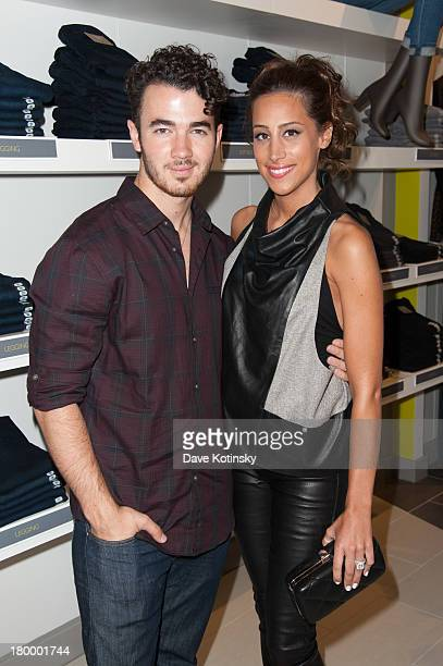 Parentstobe Kevin And Danielle Jonas Celebrate Destination Maternity Grand Opening at Destination Maternity Paramus on September 7 2013 in Paramus...