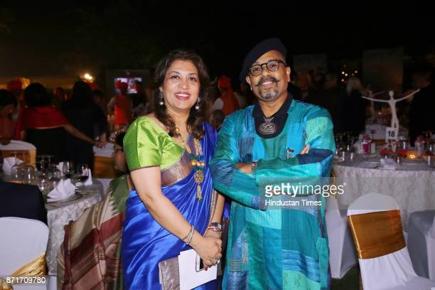 Paresh Maity during the fundraiser for Lepra India Trust at the residence of the British High Commissioner Sir Dominic Asquith at 2 Rajaji Marg on...