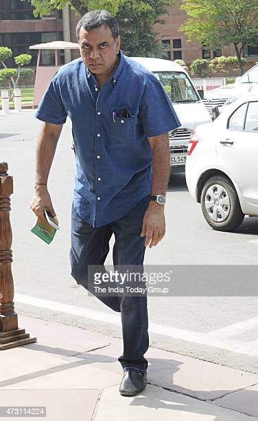 Paresh Rawal at Parliament during Parliament Budget Session