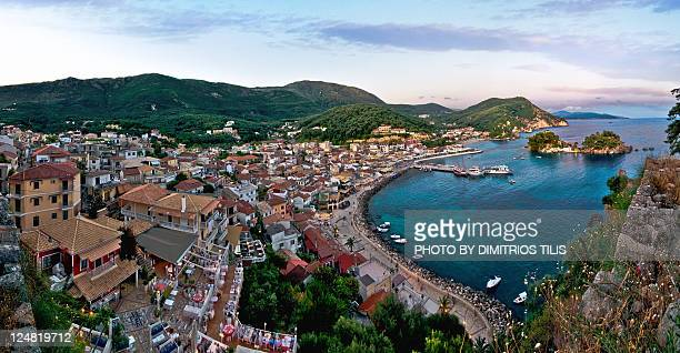 Parga Panorama from castle