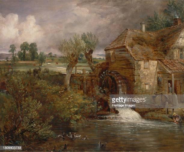 Parham Mill, Gillingham;Mill at Gillingham, Dorset;Gillingham Mill, Dorset;A Mill in Gillingham, in Dorsetshire;A Mill at Gillingham;Mill,...