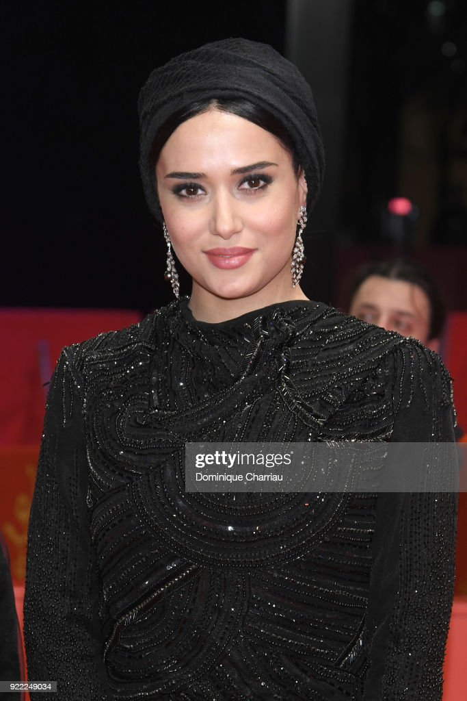Parinaz Izadyar attends the 'Pig' (Khook) premiere during the 68th Berlinale International Film Festival Berlin at Berlinale Palast on February 21, 2018 in Berlin, Germany.