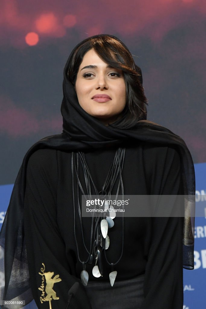 Parinaz Izadyar attends the 'Pig' (Khook) press conference during the 68th Berlinale International Film Festival Berlin at Grand Hyatt Hotel on February 21, 2018 in Berlin, Germany.