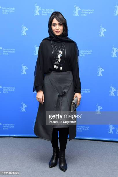 Parinaz Izadyar poses at the 'Pig' photo call during the 68th Berlinale International Film Festival Berlin at Grand Hyatt Hotel on February 21 2018...