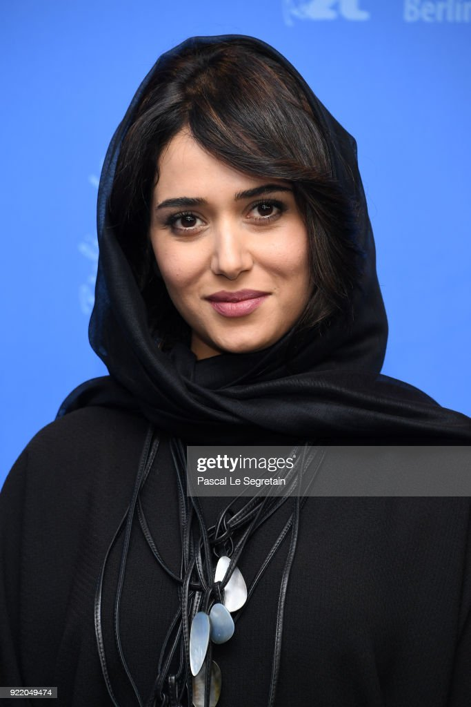 Parinaz Izadyar poses at the 'Pig' (Khook) photo call during the 68th Berlinale International Film Festival Berlin at Grand Hyatt Hotel on February 21, 2018 in Berlin, Germany.