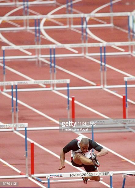 WM 2003 Paris 110 M Huerden/Maenner Jerome CREWS/GER