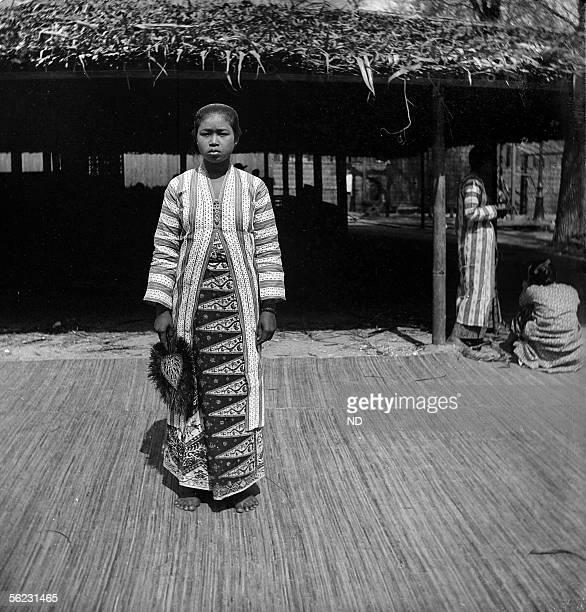 Paris 1889 World's Fair Indonesian woman ND10256