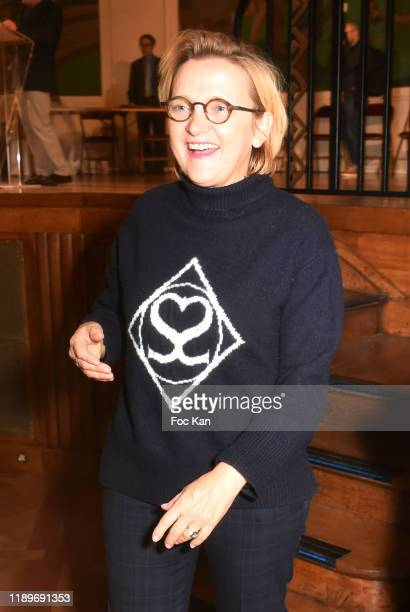 Paris 5th district mayor Florence Berthout attends the Poesie En Liberté 2019 Awards Ceremony At Mairie Du 5eme on November 23 2019 in Paris France