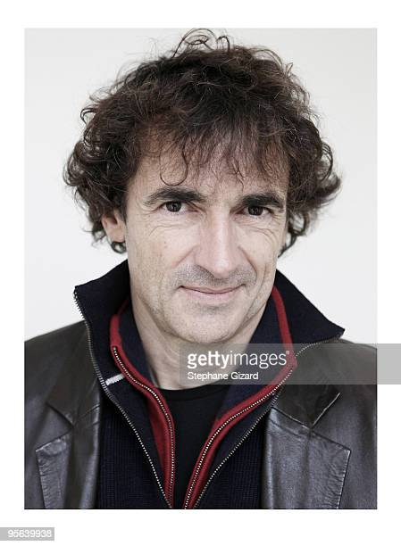 actor Albert Dupontel poses at a portrait session in Paris on Novembre 12 2009