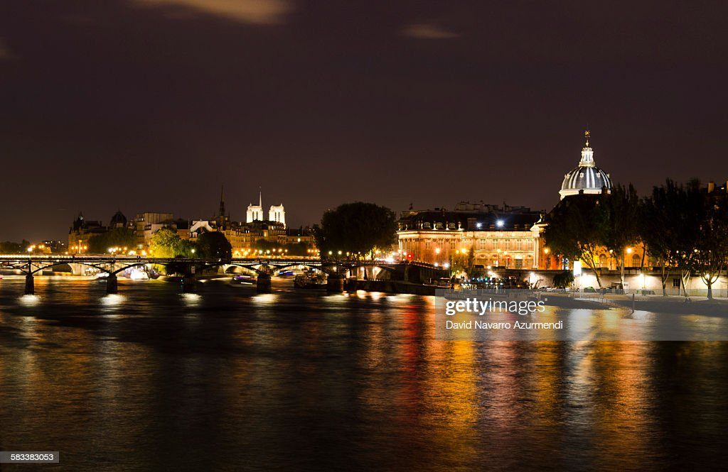 Paris at night : Stock Photo