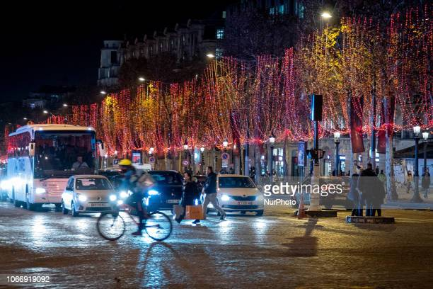 Paris' Avenue des ChampsÉlysées is seen in advance of continuing quotyellow jacketquot protests November 30 2018 Protests in recent weeks have...