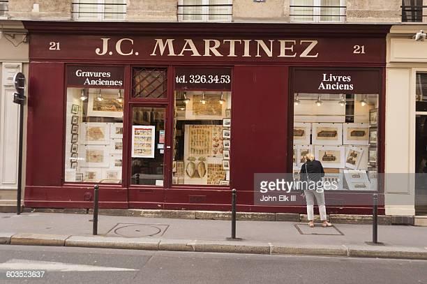 Paris, bookstore facade