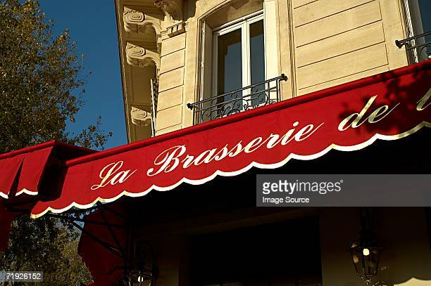 Paris brasserie