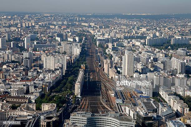 Paris city Gare Montparnasse Paris France