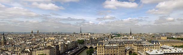 Paris City Skyline Wall Art