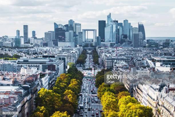 Toits de la ville de Paris