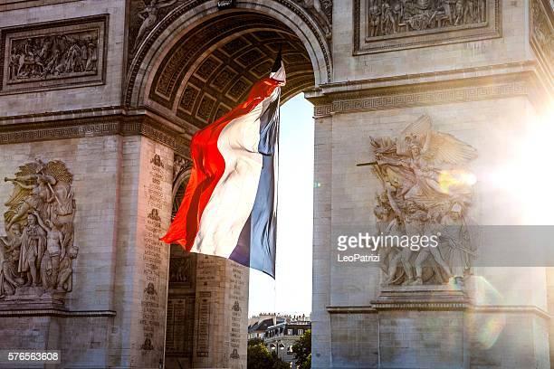Paris city view - Arc de Triomphe
