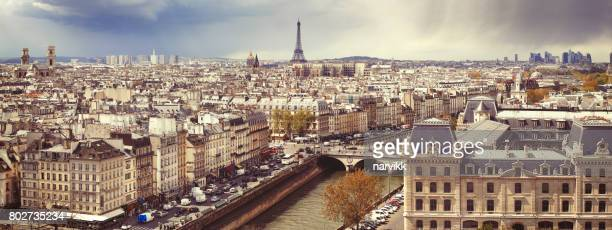 Ville de Paris avec tour Eiffel