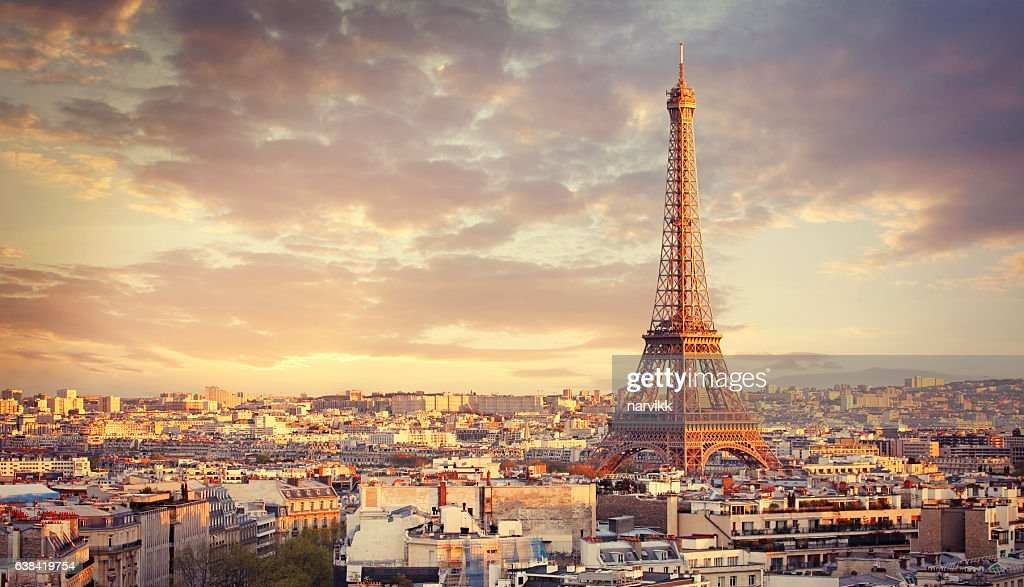 Paris cityscape : Stock Photo