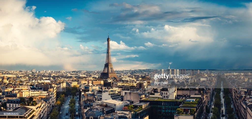 Paris Cityscape : Stock Photo