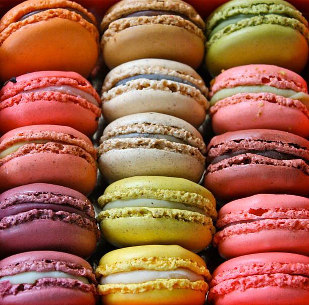 Paris Colorful Macaroons