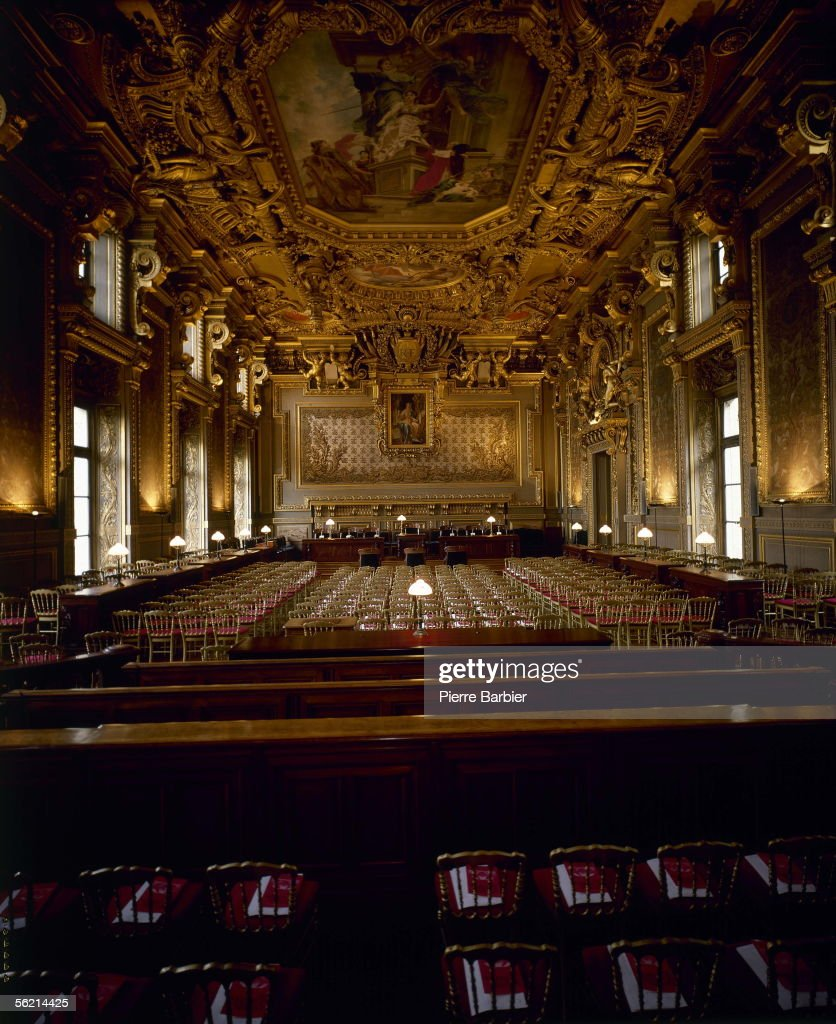 Paris Court Of Appeal Courtroom Of The First Civil Chamber RVB938240