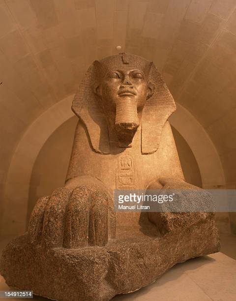 Paris December 15 Opening of the new flag Sully restored rooms at the Louvre museum devoted to Egyptian antiquities Bought in 1826 sets out in 1848...