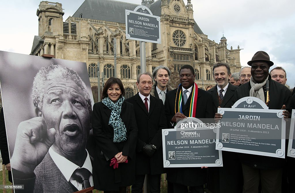 Nelson Mandela's Garden Opens In Paris