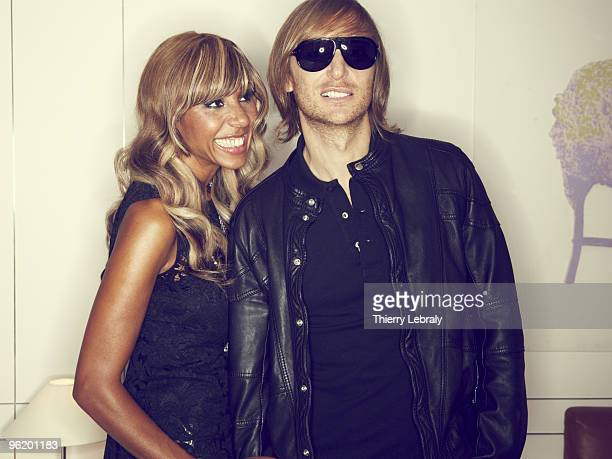DJ David Guetta poses at a portrait session for Madame Figaro in Paris on September 10 2008