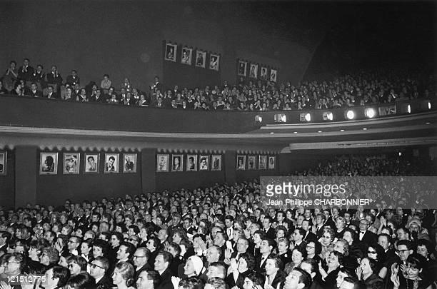Paris Edith Piaf Concert At The Olympia