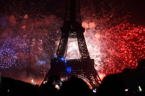 Paris fireworks 1173807254